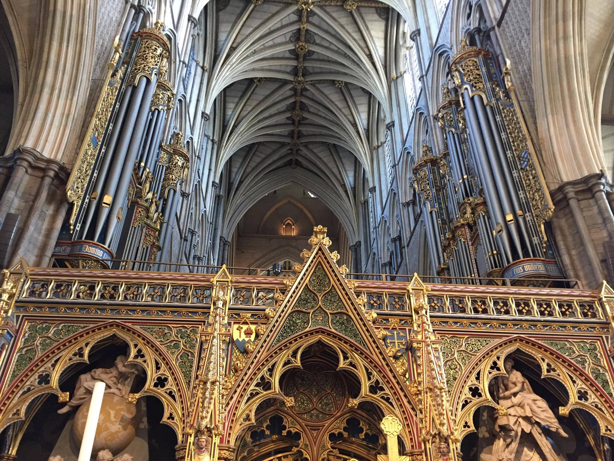 Westminster Abbey And Monarchical Power London Before