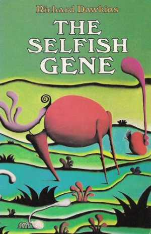 Cover of The Selfish Gene, (c) Oxford University Press, 1976.