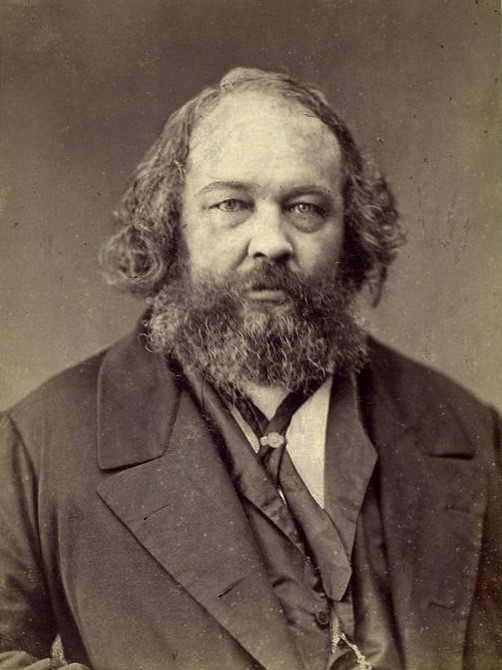 Mikhail Bakunin: Russian revolutionary anarchist embodying nihilistic values