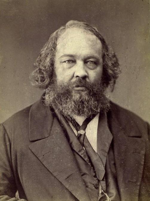 Mikhail Bakunin: Russian revolutionary anarchist embodying nihilistic values
