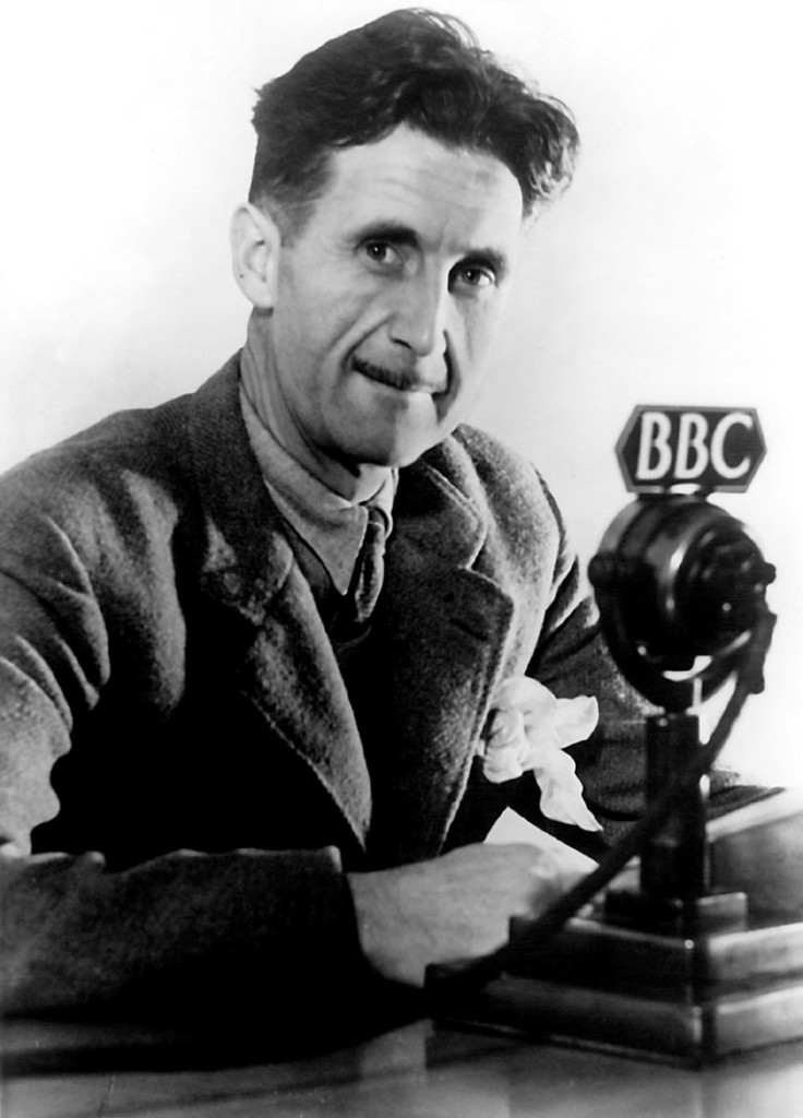 George Orwell at the BBC in 1941