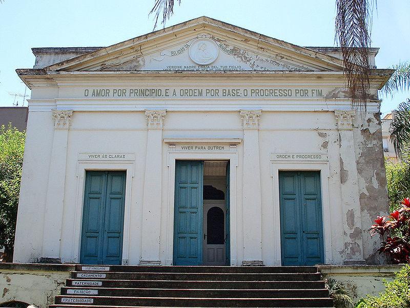 A Positivist Church in Porto Alegre, Brazil (2014) Photograph: the Science University of Iceland